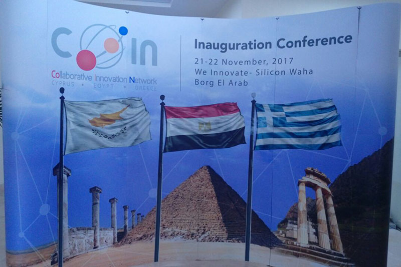 The Inauguration of Cyprus Egypt Greece Collaborative Innovation Network- CEG COIN